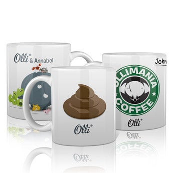 Olli mug with name