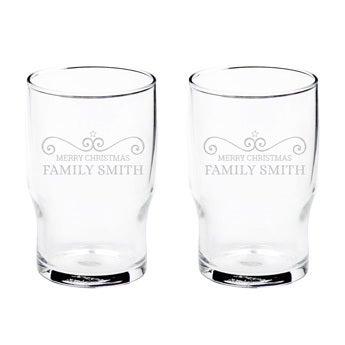 Vandglas (2 stykker)