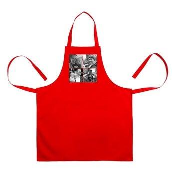 BBQ schort - Rood