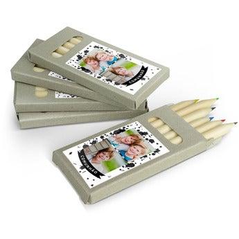 Caixas de lápis de cor