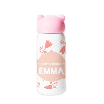 Botella de agua para niños - Rosa