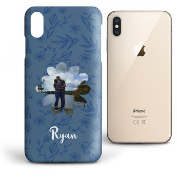 iPhone XS Max - Runt tryck