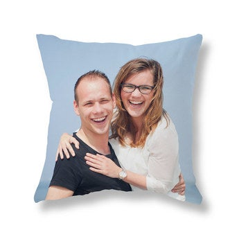 Coussin photo recto-verso - Velours 70x70
