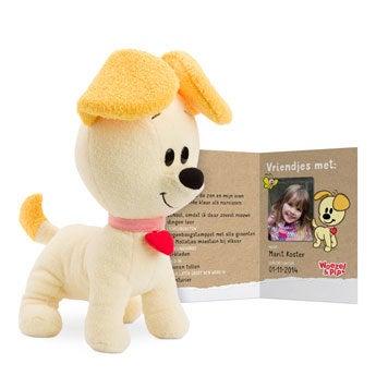 Woezel & Pip knuffelbox - Pip