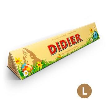 Toblerone personnalisé - Pâques