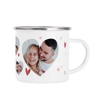 Enamel mug - Valentine's Day