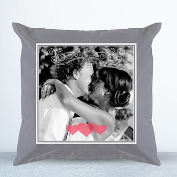 Cushion case - Light grey - 40 x 40 cm