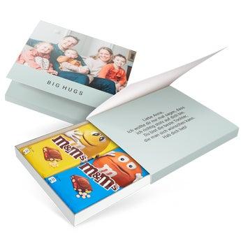 M&M Tafelschokolade personalisiert - 2 Tafeln
