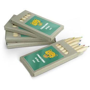 Boîtes de crayons de couleur - 100 boîtes