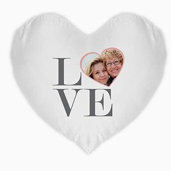 Almofada do Dia das Mães - Coração