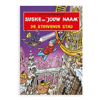 Suske en Wiske - De stuivende stad (HC)