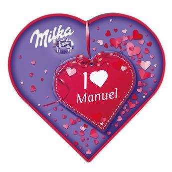 Corazón de Milka