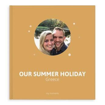 Fotobog til minder – Sommerferie – XL – HC – 40 sider