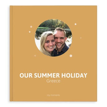 Photo book Moments - Summer Holiday - XL - HC (40)