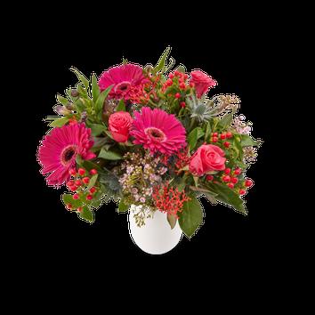 Bouquet de fleurs violettes