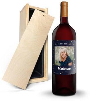 Salentein Malbec Magnum - Met bedrukt etiket