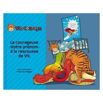 Livre personnalisé - Vic Courage