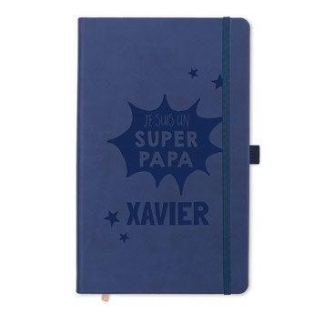 Carnet Fêtes des Pères - Bleu
