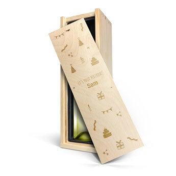 Riondo Pinot Grigio  - i en graverad låda