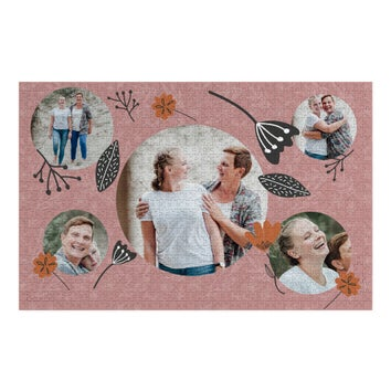 Personalised jigsaw puzzle - 1000 pcs