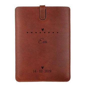 iPad Mini leather case - Brown