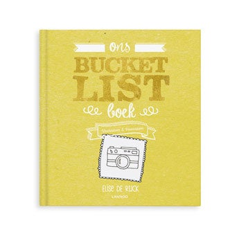 Het Bucketlist boek voor ouders - HC