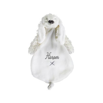 Personalised Rabbit Richie baby tuttle - Ivory