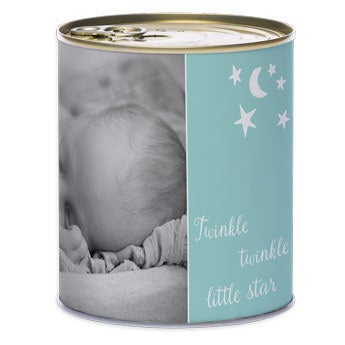 Lata de dulces - Niño - Nacimiento