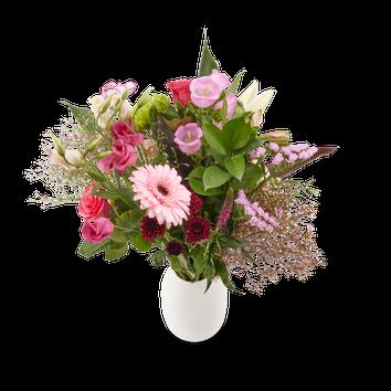 Bouquet de fleurs roses - Fête des Mères