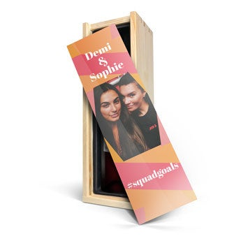 Belvy - Rojo - En caja personalizada