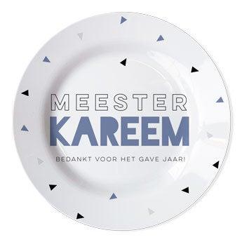 Juf / Meester bord