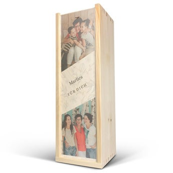 Cassetta in legno - Coperchio Stampato