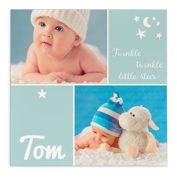 Tela para bebé - Papelão - Impressão