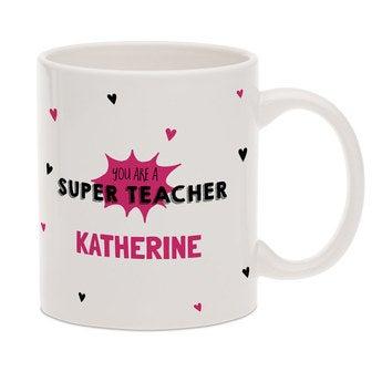 Fényképes bögre tanárok számára