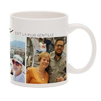Mug grand-mère personnalisé