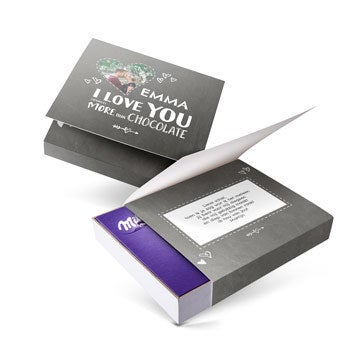 Milka giftbox - Valentijn (220 gram)