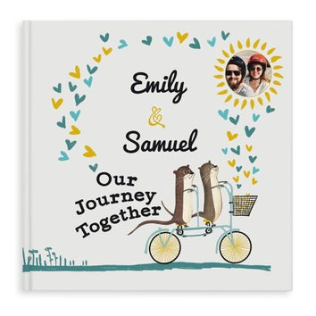 Personalised book - Our Journey Together - HC