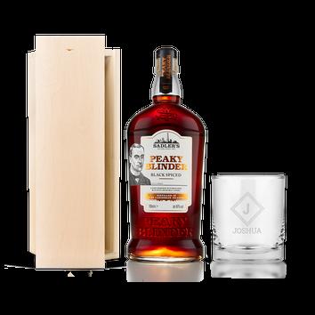 Peaky Blinders rum set (ryté pouzdro)