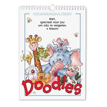 Doodles verjaardagskalender