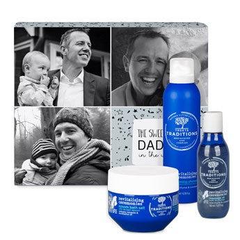 Apák napja szépségdoboz - Revitalizáló - Deluxe