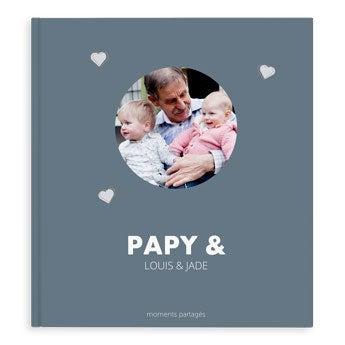 Album photo papy-XL-couverture rigide-40pages