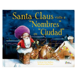 Santa Claus viene a visitarte - Tapa dura