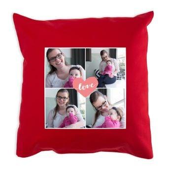 Äitienpäivän tyyny - Punainen