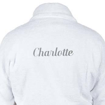 Szlafrok dla kobiet - biały L / XL
