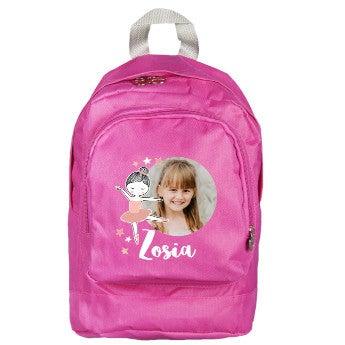 Plecak malucha - różowy