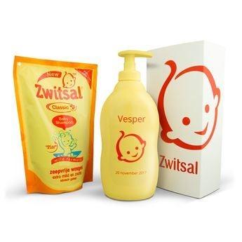 Zwitsal geschenkset - Iconische fles met naam