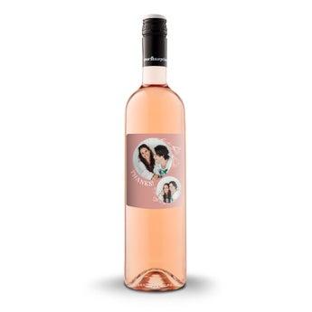Wino Luc Pirlet Syrah z etykietą