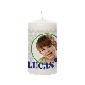 Svíčka - 13 x 7 cm