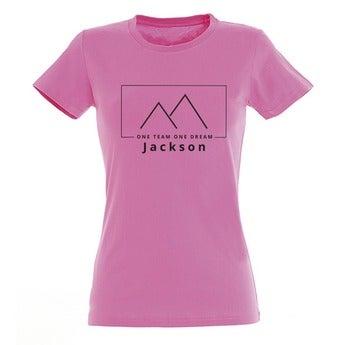T-Shirt Damen - Fuchsia - M