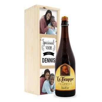 Bier in kist - La Trappe Isid'or